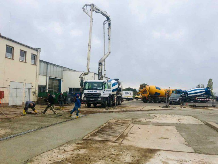 Erneuerung Wasch- und Tankplatz in Münchenbernsdorf
